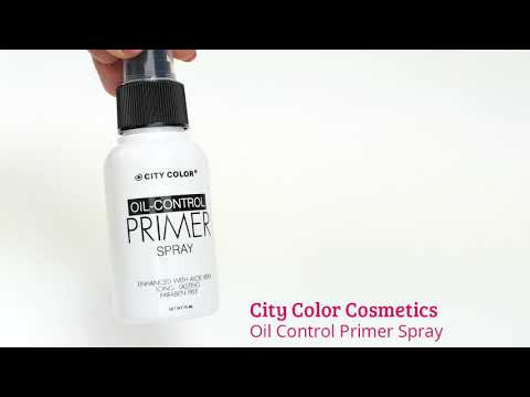 City Color City Color Oil Control Primer Spray