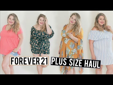 459b095505d FOREVER 21 Plus Size Try On Haul Summer 2018 play
