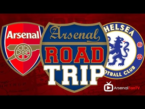 Road Trip To Wembley | Arsenal  Chelsea | Community Shield