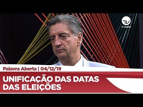 Dagoberto Nogueira propõe unificação das datas das eleições