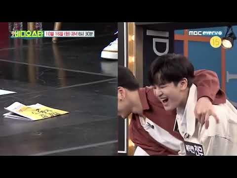 Unreleased CUT2 BobYun Vs JunChan Games Vietsub