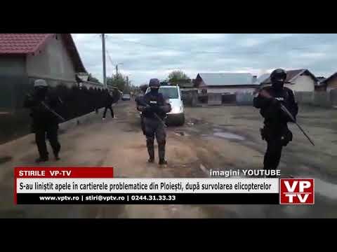 S-au liniștit apele în cartierele problematice din Ploiești, după survolarea elicopterelor