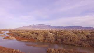 Drone Flight Albuquerque Open Space