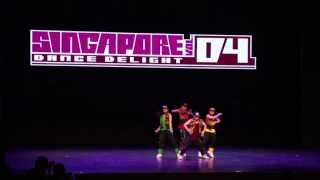 Hip Hop Hooray - Singapore Dance Delight Vol. 4 Finals (2013)