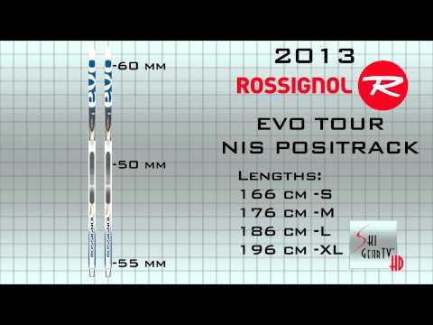 """SkiGearTV 2013 Buyer's Guide Presents The 2013 Rossignol """"Evo Tour"""" Nordic Ski"""