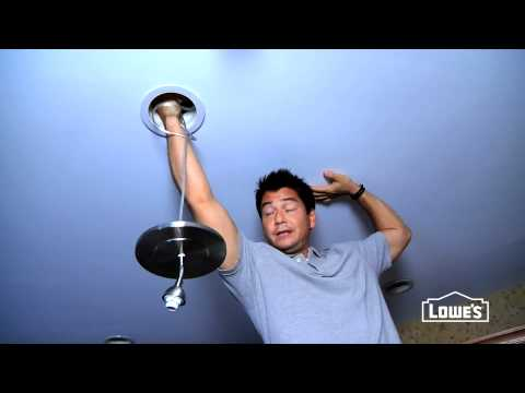 How to Convert a Recessed Light to a Pendant Light