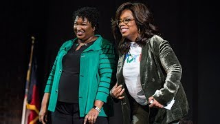 Watch Live: Oprah Winfrey Campaigns With Georgia Democrat Stacey Abrams