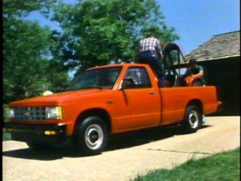 1983 Chevrolet S-10 Pickup model overview