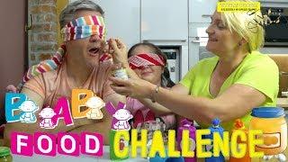 BABY FOOD CHALLENGE 👶 Z MAMĄ I TATĄ!!!