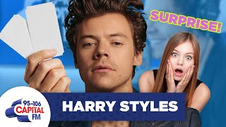 Harry Styles Surprises Super Fan With Tickets To See Him Live 🎟 | FULL INTERVIEW | Capital