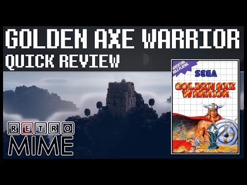 RetroMime - Quick Review - Golden Axe Warrior [MS]