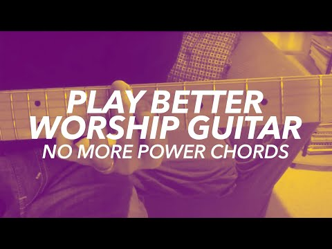 Worship Guitar Chord Inversions Tutorial