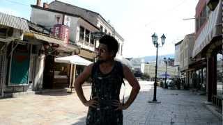 アキーラさん散策①マケドニア・スコピエ・オールドバジャールOld-Bazaar,Skopje,Macedonia