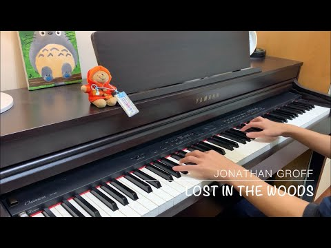 """Lost in the Woods"" - piano cover - Jonathan Groff"