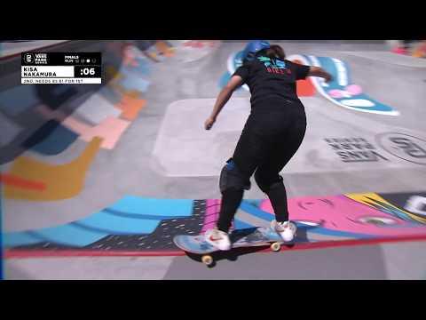 1st Place - Kisa Nakamura (JPN) 88.23 | Huntington Beach, USA | 2018 Women's Vans Park Series