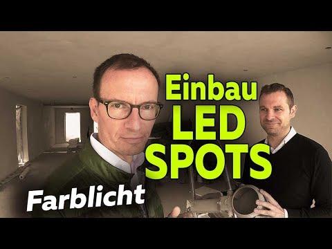 Einbau dimmbare Farb-LED-Spots | Hausbau | Smartest Home - Folge 15