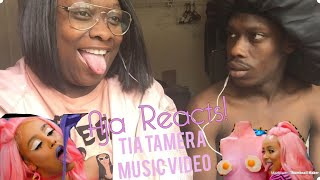DOJA CAT - TIA TAMERA (OFFICIAL VIDEO) FT RICO NASTY | Aja Reacts ft Smokin with lil smoke