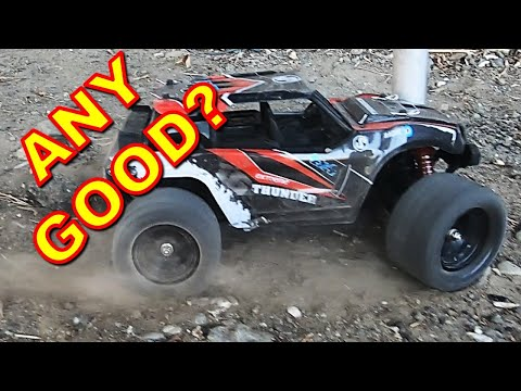 Dirt Cheap 4WD RC Monster Truck Details, Speed Test & Crash - HS18311, 1/18 Scale