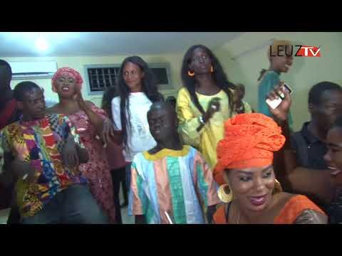 Vidéo : De l'ambiance à l'anniversaire du comédien Ox de «Rirou tribunal»