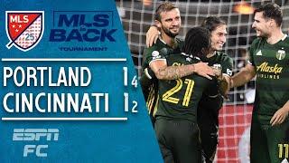 Portland Timbers Survive FC Cincinnati Upset Bid With Penalty-shootout Win   MLS Highlights
