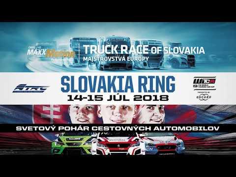 OMV MaxxMotion TRUCK RACE OF SLOVAKIA + FIA WTCR, 14. -15.7.2018