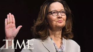 President Donald Trump Swears In Gina Haspel As CIA Director At Langley Headquarters | TIME - Video Youtube