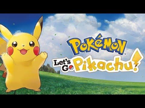 Pokemon Let's Go Pikachu - videogamedunkey