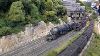 preview picture of video 'American Trains - Schlanders Silandro 2014'