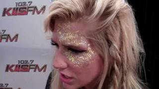 Ke$ha declares her love for Britney Spears interviewed at KIIS FM's 2011 Wango Tango