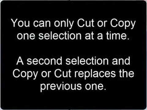 Cut, Copy and Paste! – Video Tip – HelpMeRick com – Computer help