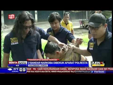 Berusaha Melarikan Diri, Bandar Narkoba di Palembang Ditembak