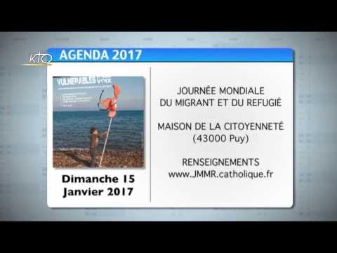 Agenda du 9 janvier 2017