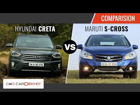 Exclusive Review| S-Cross Vs Creta | CarDekho.com