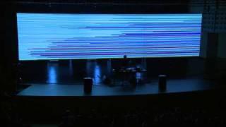 "Ars Electronica 2009: alva noto: ""Unitxt Derivative Version"" (Part 4)"