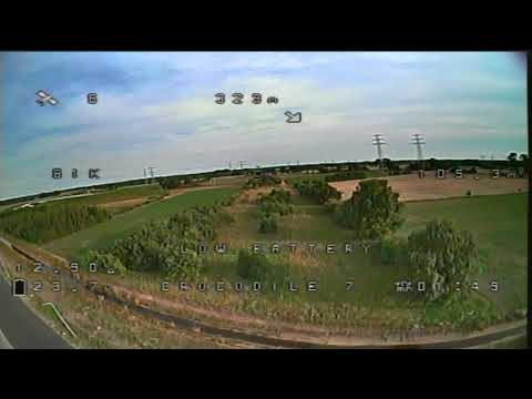 Runcam micro Swift 3 v2 - test flight (uneditted DVR)