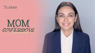 Mila Kunis Teaches Her Kids to Stand Up For Themselves | MOM CONFESSIONS