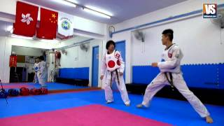 【Taekwondo】Combo Kicks, Turning Kicks, Single Kicks (Additional)