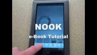 B&N NOOK: How To Download Library eBooks