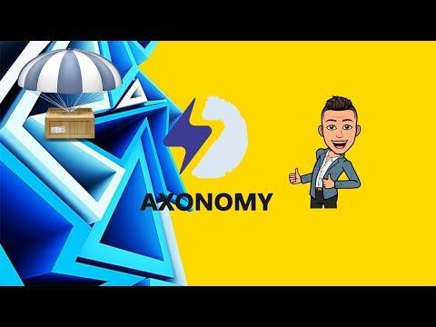 Airdrop Axonomy , Ganhe $30 Dólares + Referral