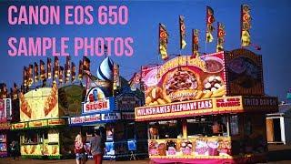 Canon EOS 650 Sample Photos
