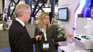 XN-3000 with DI-60 display in Sysmex booth at AACC 2013
