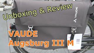 VAUDE Augsburg III M Bike Bag - UNBOXING & REVIEW