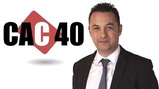 CAC40 Index CAC 40 Point Matinal du 25-04-2017 par boursikoter