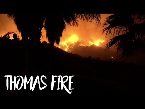 THOMAS FIRE CAME BACK | VLOGMAS DAY 8,9 & 10 | VALEYAS VLOGS