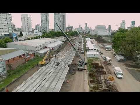 Paso a paso, así se hizo el Viaducto San Martín