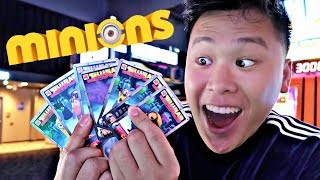 WON THE HUGE MINIONS JACKPOT!!! (ENTIRE SET)