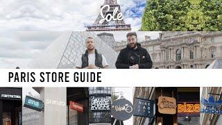 The 12 Best PARIS Sneaker & Streetwear Shops