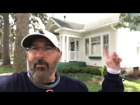 RainDrop Gutter Guard 5 Year Review. House With Giant Pine Trees And Tons Of Pine Needles.