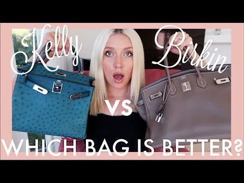 HERMES Birkin vs Kelly | WHICH BAG SHOULD YOU BUY?