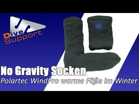 No Gravity Socken aus Polartec Wind Pro – warme Füße auch im Winter | DiveSupport